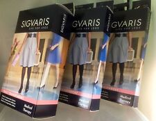 Sigvaris Truly Transparent KNEE THIGH PANTYHOSE 20-30 & 30-40 mmHg  Color & Size