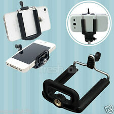 Smart Mobile Cell Phone Tripod Holder Clip Fits For Apple Samsung Nokia HTC LG