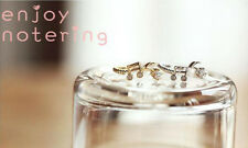 Fancy New Stylish Sophisticated Design Note Melody Rings Jewelry MOSL