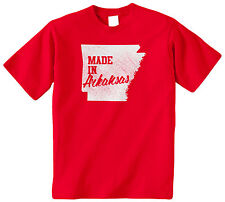 Made In Arkansas Kids YOUTH T-Shirt Tee United States USA Pride Little Rock