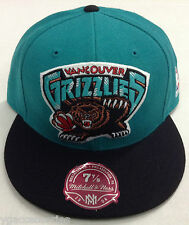 NBA Vancouver Grizzlies Mitchell and Ness Fitted Cap Hat M&N NEW!