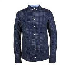 WEEKEND OFFENDER SHIRT WITKIN BLUE NAVY LOGO SPOTTED TOP
