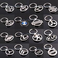 3D Chromed Metal Crafts Car Chain Key Ring Exquisite Beautiful Gift