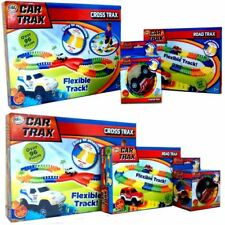 CHILDRENS KIDS COLOURFUL CAR TRAX FLEXIBLE TOY RACE TRACK PLAY SET BOY XMAS GIFT