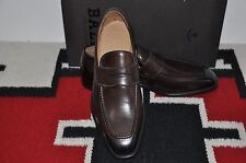Bally Scribe Farmey Chocolate Calf Hand Made in Switzerland Dress Shoes