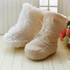 Toddler Newborn Prop Baby Soft Sole Winter Warm Booties Boots Crib Socks Shoes