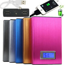 12000mAh LCD Power Bank Batteria Esterna Usb Per iPhone Samsung LG HTC Tablet PC