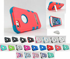 for Apple iPhone 6 6S (4.7 Inch) TUFF Hard/Soft Dual Layer Case Cover+PryTool
