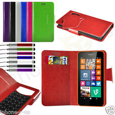 7 Colour Leather Suction Wallet Flip Phone Case For Various Mobile Phones