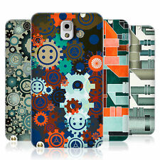HEAD CASE PIPES AND GEARS TPU REAR CASE COVER FOR SAMSUNG GALAXY NOTE 3 N9000