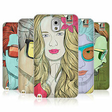 HEAD CASE LINEART HAIRSTYLES TPU REAR CASE COVER FOR SAMSUNG GALAXY NOTE 3 N9002