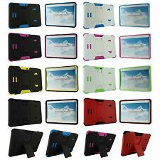 "For Samsung Galaxy Tab 4 10 10.1"" T530 Heavy Duty Hard Hybrid Stand Case Cover"