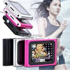 6th Gen 1.8in  LCD Digital  MP3 / MP4  Vidéo FM Radio Player 2GB-16GB SD / TF BB