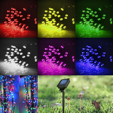 Solar Power Light 100/200 LED Christmas Party Garden String Fairy Lamp Decro