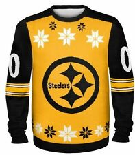 Pittsburgh Steelers Ugly Sweater - Almost Right - NEW NFL Christmas Holiday