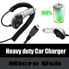 Heavy Duty Premium Plug in Auto Car Charger fr Sony Cell Phones New!!