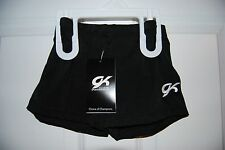 GK Elite Shorts - Gymnastic/Cheer/Dance - Black Velvet