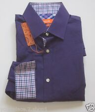 "Tallia Mens ""Egg Plant"" Purple Slim Fit Dress Shirt $79.50"