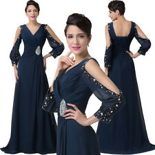2014 Formal Long Ball Gown Party Prom Christmas Evening Dresses Size Stock 6-20