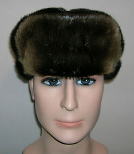 NEW  ALASKAN TROOPPER RIVER OTTER FUR HAT FOR MEN & WOMEN MADE IN USA