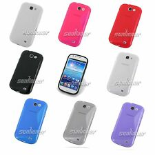 Silicone TPU Case Skin Cover for Samsung Galaxy Express,i8730 +Screen Protector