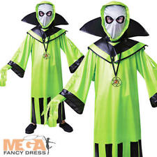 Extraterrestrial Alien Boys Fancy Dress Halloween Martian Kids Childrens Costume