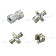 "1/4""/3/8"",Female/Male Threaded Screw Adapters, Camera Camcorder Tripod Accessory"