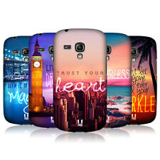 HEAD CASE WORDS TO LIVE BY 4 COVER FOR SAMSUNG GALAXY S3 III MINI I8190