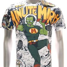 m247 Minute Mirth T-shirt Sz M L Tattoo Skull Classic Super Hero War Monster Men