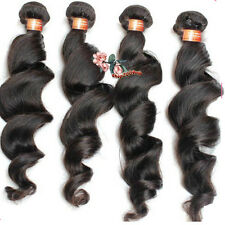 3 Bundles 300g Weave Top Virgin Brazilian Human Hair Extensions Wefts Loose Wave