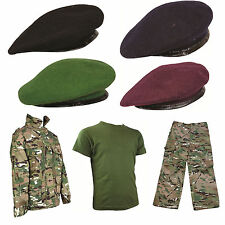 Kids Pack 9 HMTC Camo MTP MultiCam Match Military Army Uniform + Beret All sizes