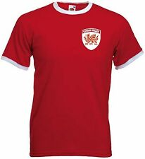 NEW London Welsh Rugby Union Team Retro Style T-Shirt  - All Sizes  Available