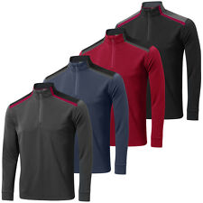 Mizuno Golf 2015 Mens Shiki Quarter Zip Pullover 1/4 Zip Thermal Layer Cover Up