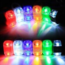 Silicone Waterproof LED Bicycle Bike Safety Front Flash Light Wheel 2LED Bulbs