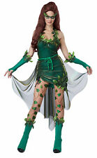 Adult Sexy Lethal Beauty Poison Ivy Costume Halloween