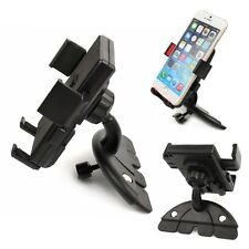 Car Auto Unlock 360° CD Slot Mount Holder Stand Cradle for Mobile Cell Phone GPS