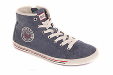 Tommy Hilfiger Men's Sneaker Trainers Cotton Samson 10c Jeans Denim Blue
