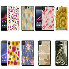 Vintage Retro Pattern Case Cover for Sony Xperia Z - Z1 and Z2 - No.25