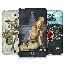 HEAD CASE ARMY PIN-UP CHIC COVER FOR SAMSUNG GALAXY TAB 4 7.0 WIFI T230