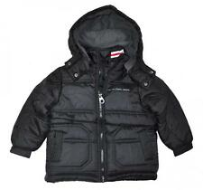Calvin Klein Toddler Boys Black Fleece Lined Bubble Coat Size 2T 3T 4T $80