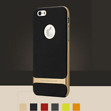 """Neo Hybrid Gold Hard Bumper Soft Rubber Case Cover for iPhone 6 4.7"""" 5.5"""" 6 Plus"""