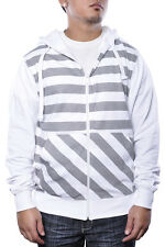 Zig Zag Pin Stripe Illusion Charlie Striped Plus Size Warm Holiday Sweater Hoody