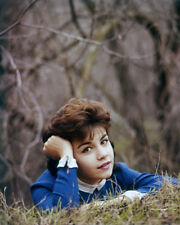 ANNETTE FUNICELLO POSING IN WOODS CIRCA 1960 PHOTO OR POSTER