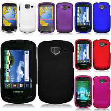 For Samsung Brightside U380 Rubberized Hard Snap On Cover Case w/Screen
