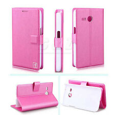 4Color Wallet Flip Leather Stand Case Pouch For Samsung Galaxy Core Lite G3568V