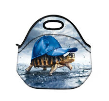 Hot Turtle Insulated Tote Thermal Lunch Bag/Cool Bag/Cooler/Lunch Box/Picnic Bag