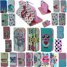 Wallet PU Leather Folio Flip Stand Case Cover For Samsung Galaxy Ace 4 NXT G313h