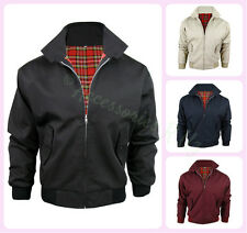 MEN'S CLASSIC VINTAGE RETRO SCOOTER 1970'S BOMBER HARRINGTON TRENDY JACKET