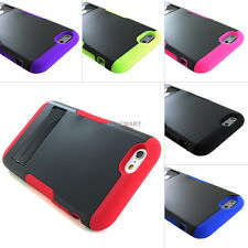 """For iPhone 6 Plus 5.5"""" Hybrid Defender Heavy Duty Hard Case Cover Stand+Screen"""