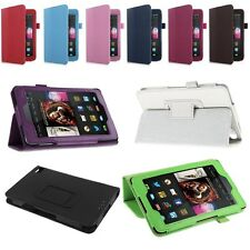 For 2014 Amazon Kindle Fire HD 6 7 Tablet PU Leather Folio Smart Fit Case Cover